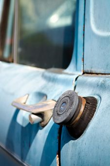 Free Old Truck Fuel Cap Stock Photography - 19739792