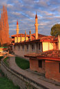 Free Mosque At The Sunset Royalty Free Stock Photo - 19741085