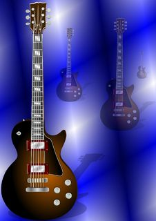 Free Guitar Royalty Free Stock Photos - 19740908