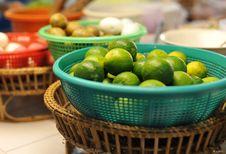 Free Green Lemons Stock Image - 19740921
