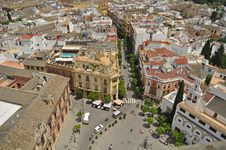 Free A Square In Seville Stock Photography - 19741102