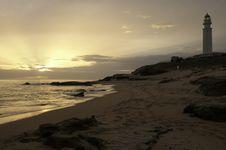 Free Sunset Lighthouse Stock Image - 19749951