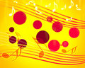 Free Abstract Musical Background Royalty Free Stock Image - 19752896