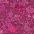 Free Canvas Texture With Hearts Stock Image - 19752971