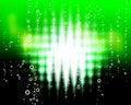 Free Green Zigzag  Blast Stock Image - 19753191
