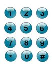 Free Web Phone Buttons Royalty Free Stock Photo - 19756595