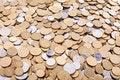 Free Ukrainian Coins Background Stock Photo - 19756900