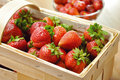 Free Strawberries In Basket Royalty Free Stock Photography - 19758217