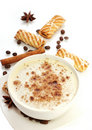 Free Cup Of Coffee And Biscuits Stock Photo - 19759310