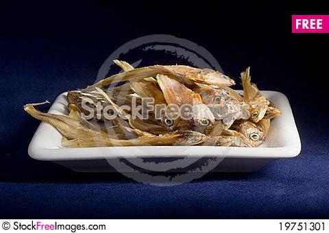 Dry Fish Stock Photo