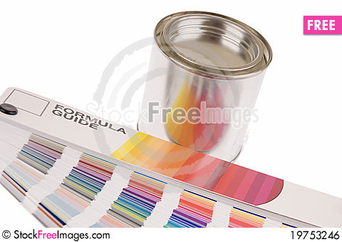 Free Color Guide Royalty Free Stock Image - 19753246