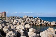 Free Summer Greek Resort Of Rhodes Stock Photo - 19750110