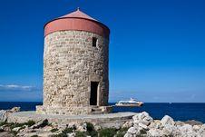 Free Summer Greek Resort Of Rhodes Royalty Free Stock Image - 19750146