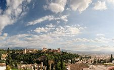 Free Aerial View Of Granada Royalty Free Stock Image - 19750256