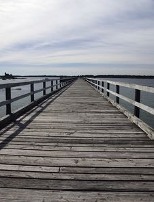 Free Pier Perspective Stock Image - 19750281
