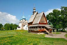 Free Wooden Church Nikola S In Suzdal Kremlin. Stock Photography - 19750412