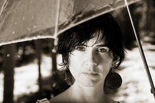 Free Rain Under My Umbrella Stock Images - 19750534
