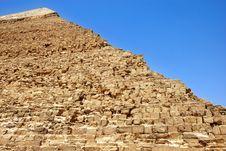 Free Kefren Pyramid On Giza, Cairo Royalty Free Stock Photography - 19750607