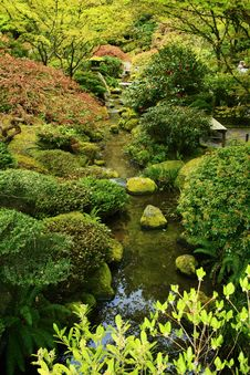 Free Peaceful Garden Stock Photo - 19751220