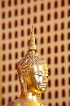 Buddha Head Image Royalty Free Stock Photography