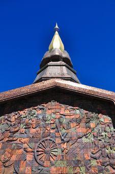 Free The Stupa Phra Mahathat Naphamethanidon Stock Images - 19751784