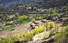 Free Tibetan Village Royalty Free Stock Photo - 19751935