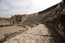 Free Israeli Amphitheater Royalty Free Stock Image - 19752296