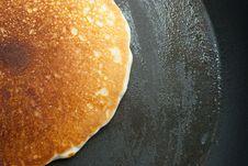 Free Pancake In Buttered Pan Stock Photos - 19752493