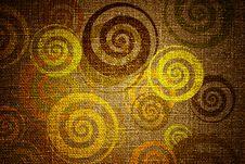 Free Grunge Swirls On Canvas Royalty Free Stock Photography - 19752637