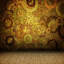 Free Grunge Textile Room Stock Photo - 19752640