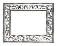 Free Silver Frame Stock Photography - 19752732