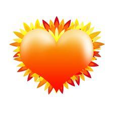Free Sunny Heart Royalty Free Stock Image - 19752806