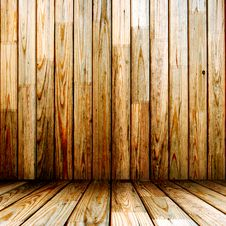Free Wooden Room Royalty Free Stock Photo - 19752875