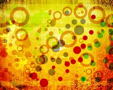 Free Abstract Circle Grunge Background Stock Images - 19752894