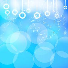Free Blue Bubbles Stock Image - 19752931
