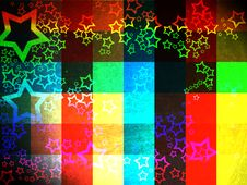 Free Colorful Grunge Checkered Background Royalty Free Stock Image - 19753056