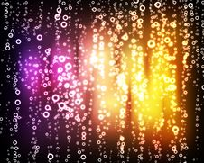 Free Glowing Circles On Colorful Background Royalty Free Stock Photo - 19753135