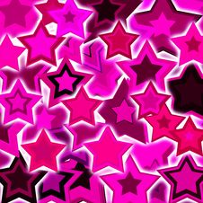 Free Glowing Stars Royalty Free Stock Image - 19753146