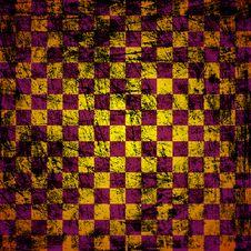 Free Grunge Chessboard Background Royalty Free Stock Image - 19753256