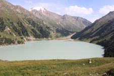 Free Lake Of Almaty Stock Images - 19753654