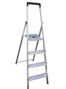 Free Aluminium Step Ladder Stock Images - 19753714