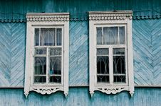 Free Russian Wooden House Royalty Free Stock Photo - 19753965