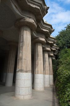 Free Parc Guell Barcelona Royalty Free Stock Photo - 19754145