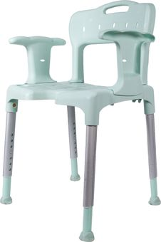 Free Plastic Chair With Aluminium Frame Royalty Free Stock Images - 19754149