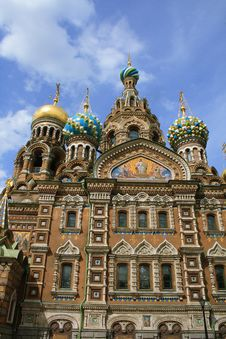 Free Saint-Petersburg, Russia, Church Spas Na Krovi Royalty Free Stock Photography - 19754627