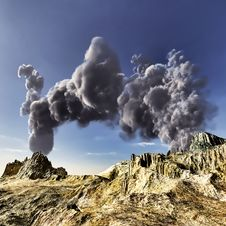 Free Volcanic Eruption Stock Photo - 19754680