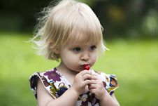 Free Little Girl Royalty Free Stock Images - 19755179