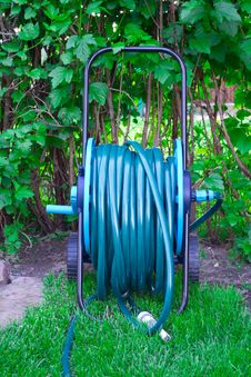 Free Hose For Watering Royalty Free Stock Photos - 19755368