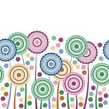 Free Stylized Flowers Stock Image - 19755811