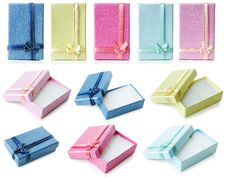 Gift Boxes Set | Isolated Stock Photos